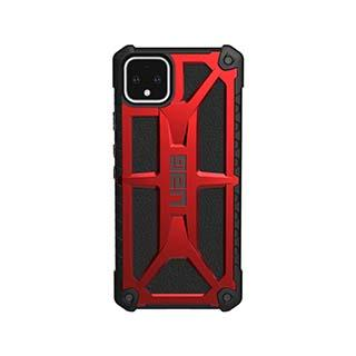 Case - UAG Red/Black (Crimson) Monarch Case For Google Pixel 4 XL