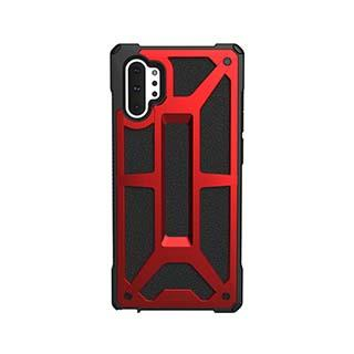 Case - UAG Red/Black (Crimson) Monarch Case For Samsung Galaxy Note 10 Plus