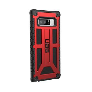 Case - UAG Red/Black (Crimson) Monarch Series Case For Samsung Galaxy Note 8