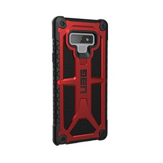 Case - UAG Red/Black (Crimson) Monarch Series Case For Samsung Galaxy Note 9