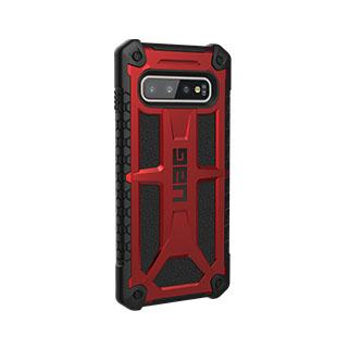 Case - UAG Red/Black (Crimson) Monarch Series Case For Samsung Galaxy S10