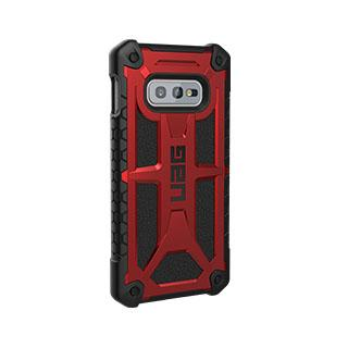 Case - UAG Red/Black (Crimson) Monarch Series Case For Samsung Galaxy S10e