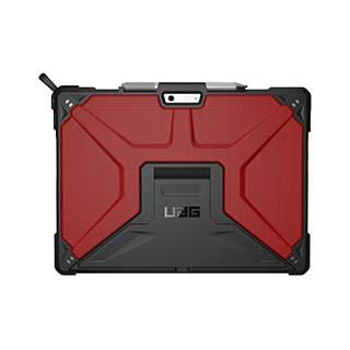 Case - UAG Red/Black (Magma) Metropolis Series Case For Microsoft Surface Pro X