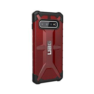 Case - UAG Red/Black (Magma) Plasma Series Case For Samsung Galaxy S10 Plus