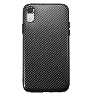 Case - Uolo Black Sleek Glossy Carbon Case For IPhone XR