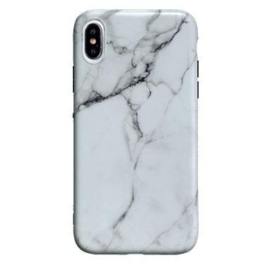Case - Uolo White Sleek Marble Case For IPhone Xs Max