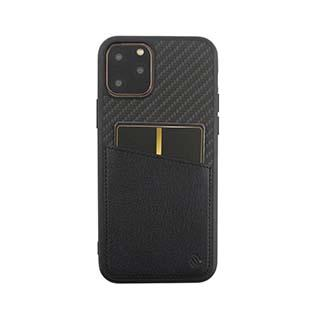Case - Uunique Black Carbon Pocket Case For IPhone 11 Pro