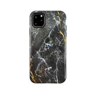 Case - Uunique Black/Gold (Dark Star Marble) Nutrisiti Eco Printed Marble Back Case For IPhone 11 Pro Max