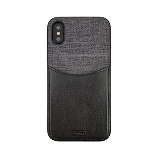 Case - Uunique Black/Grey Reflect Pocket Case For IPhone X, IPhone Xs