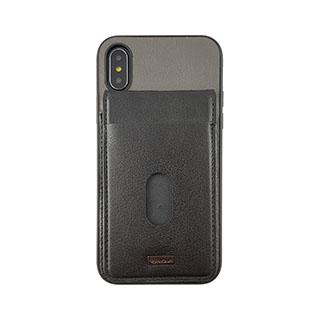 Case - Uunique Black/Grey Westminster Flip Pocket Case For IPhone X, IPhone Xs