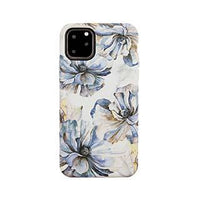 Case - Uunique Blue/Gold (Bold Blossom) Nutrisiti Eco Printed Marble Back Case For IPhone 11 Pro