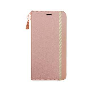 Case - Uunique Pink (Summer Pink) Saffiano Flower Folio Case For IPhone 11 Pro