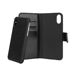 Case - Xqisit Black Eman Wallet Case For IPhone Xs Max