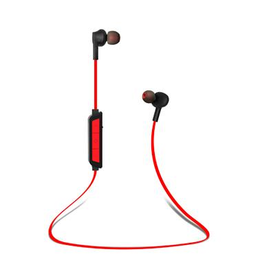 Headset - Uolo (Black/Red) Pulse Wireless In-ear Headphones
