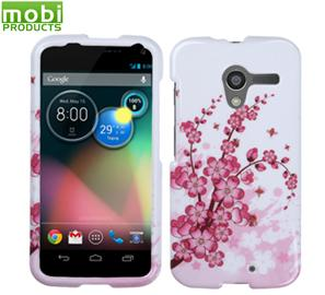Mobi Products Protective Case (Spring Flowers) For Motorola Moto X