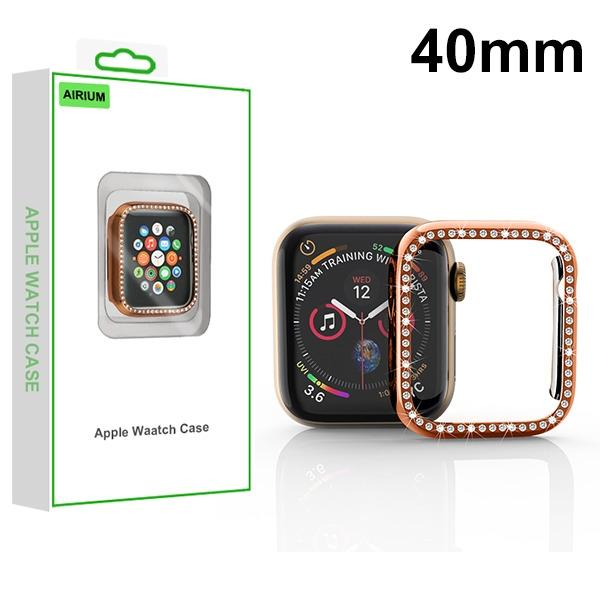 MYBAT Electroplated Rose Gold Apple Watch Case (with Diamonds)(with Package) For APPLE Watch Series 5 40mm