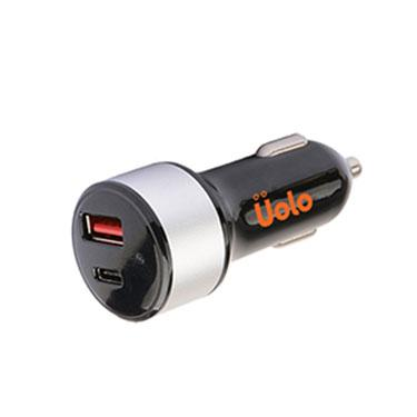 Plug - Uolo Volt 27W PD Car Charger With 5W USB A Port