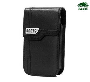 Roots Leather Swivel Holster For BlackBerry Curve 9220, Curve 9320, Curve 9360, Curve 9380
