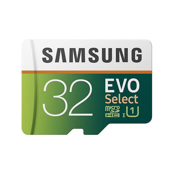 Samsung 32GB 95MB/s (U1) MicroSD EVO Select Memory Card With Adapter