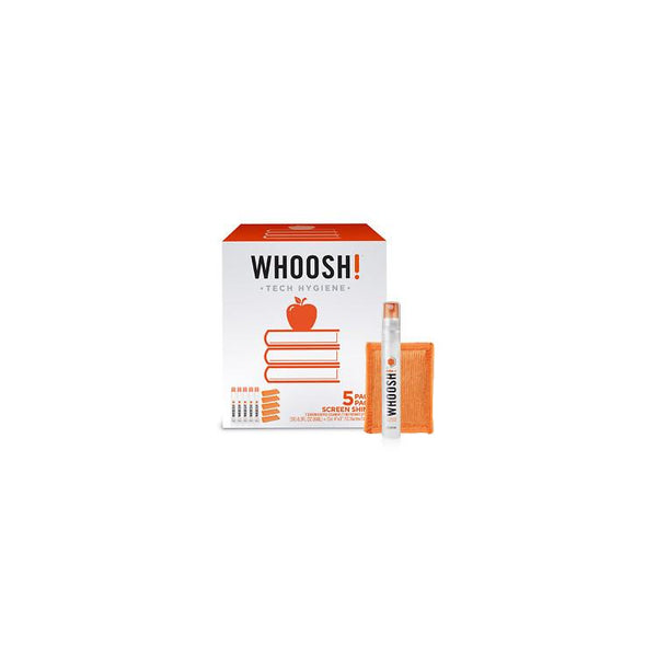 Screen Care - WHOOSH! Back-2-School Multi-Pack Screen Care (5 X 8ml 5 X Cloth)