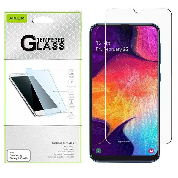 Screen Protector - AIRIUM Tempered Glass Screen Protector (2.5D) For Samsung Galaxy A50