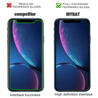 Screen Protector - Full Coverage (Black) Tempered Glass Screen Protector For IPhone 11, IPhone XR