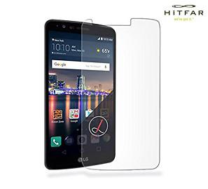 Screen Protector - Hitfar Tempered Glass Screen Protector For LG Stylo 3 Plus