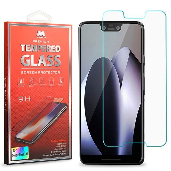 Screen Protector - MYBAT (2.5D) Tempered Glass Screen Protector For Google Pixel 3 XL