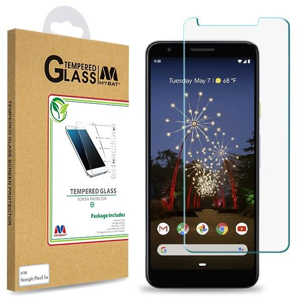 Screen Protector - MYBAT (2.5D) Tempered Glass Screen Protector For Google Pixel 3a