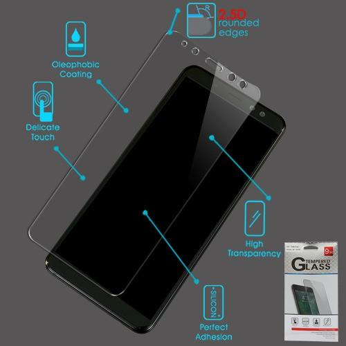 Screen Protector - MYBAT (2.5D) Tempered Glass Screen Protector For Samsung Galaxy A8 (2018)