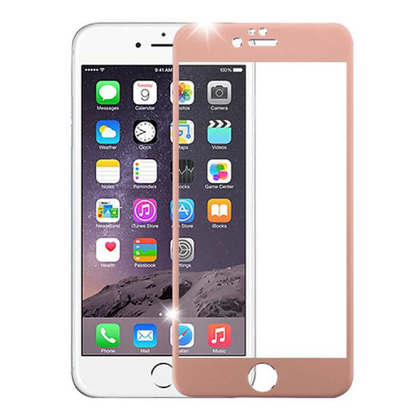 Screen Protector - MYBAT 3D Curved Edge Titanium Alloy Tempered Glass Screen Protector For IPhone 6 Plus, IPhone 6S Plus (Rose Gold)