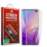 Screen Protector - MYBAT Curved Edge To Edge TPU Screen Protector For Samsung Galaxy S10 Plus