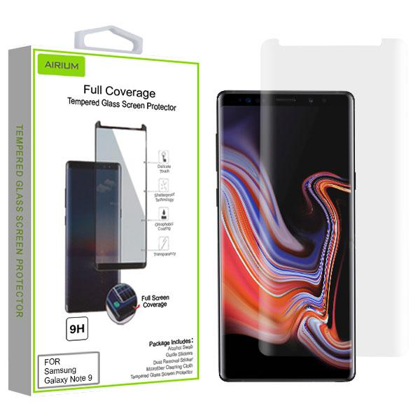 Screen Protector - MYBAT (Transparent) Full Coverage Tempered Glass Screen Protector For Samsung Galaxy Note 9