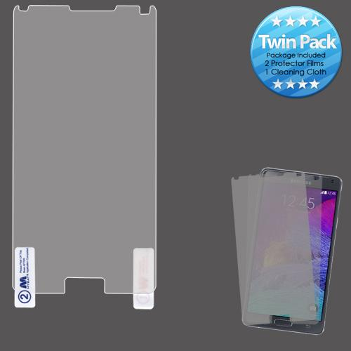 Screen Protector - MYBAT (Twin Pack) Screen Protector For Samsung Galaxy Note 4
