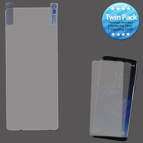 Screen Protector - MYBAT (Twin Pack) (Strong Adhesion & Ultra-thin) Screen Protector For Samsung Galaxy S8 Plus
