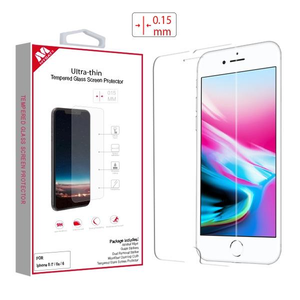 Screen Protector - MYBAT Ultra-thin (2.5D) (Thickness:0.15mm) Tempered Glass Screen Protector For IPhone 6, IPhone 6S, IPhone 7, IPhone 8