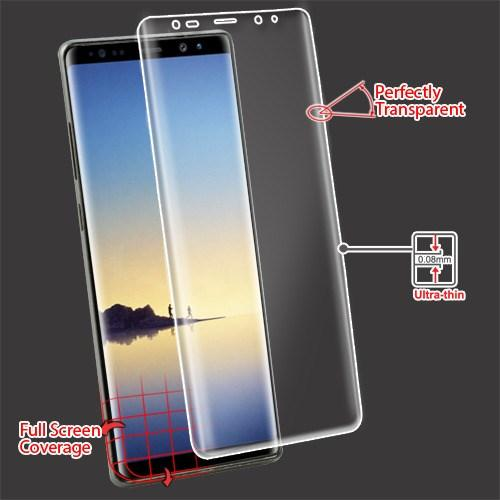 Screen Protector - MYBAT (with Curved Coverage) Screen Protector For Samsung Galaxy Note 8