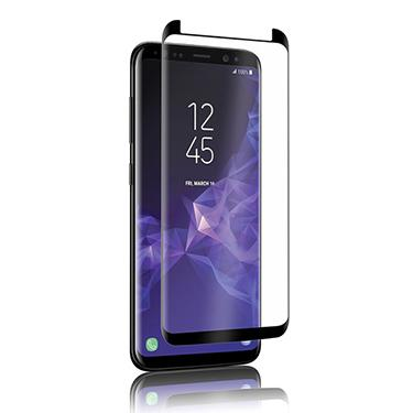 Screen Protector - Uolo (Black) Shield 3D (Case Friendly) Tempered Glass Screen Protector For Samsung Galaxy S9