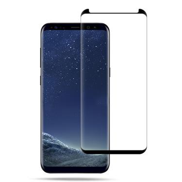 Screen Protector - Uolo Shield 3D Black Tempered Glass Screen Protector For Samsung Galaxy S8