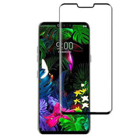 Screen Protector - Uolo Shield 3D Tempered Glass Screen Protector For LG G8 ThinQ
