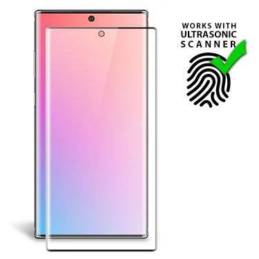 Screen Protector - Uolo Shield 3D Tempered Glass Screen Protector For Samsung Galaxy Note 10 Plus