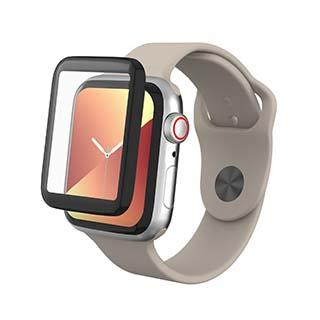 Screen Protector - ZAGG InvisibleShield GlassFusion Hybrid Glass Screen Protector For Apple Watch Series 4/5 (40mm)