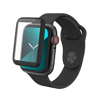 Screen Protector - ZAGG InvisibleShield GlassFusion Hybrid Glass Screen Protector For Apple Watch Series 4/5 (44mm)