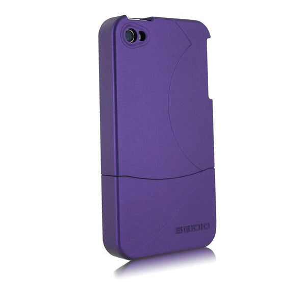 Seidio Innocase II Surface Case (Amethyst) (CSR3IPH4P-PR) For IPhone 4