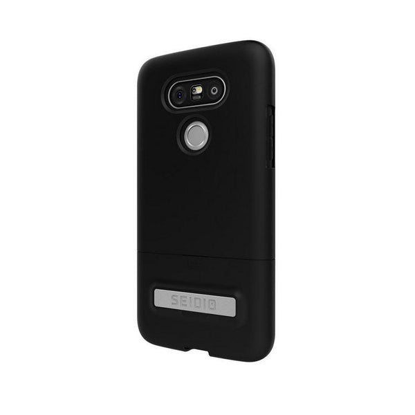 Seidio SURFACE Case With Metal Kickstand Case (Black) For LG G5