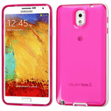 Smartphone Experts Candy Skin Case (White Belly/Transparent Glossy Hot Pink) For Samsung Galaxy Note 3