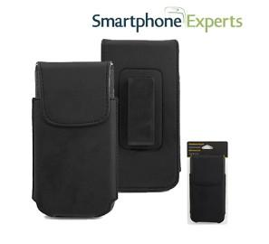 Smartphone Experts PU Leather Holster With Swivel Clip