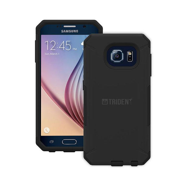 Trident Aegis Case (Military Tested) (Black) For Samsung Galaxy S6