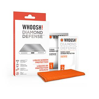 WHOOSH! Tech Hygiene Diamond Defense Nano Liquid Screen Protection