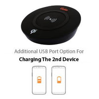 Wireless Charging - Uolo Volt Qi Wireless Charging Pad With Additional USB Port